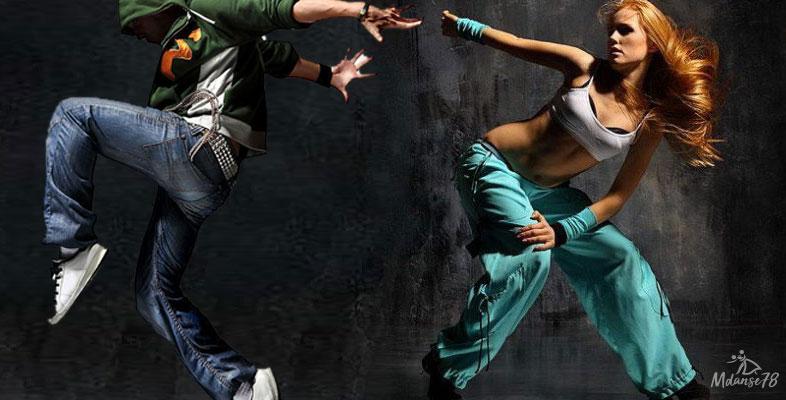 Photographie de danseurs et danseuses
